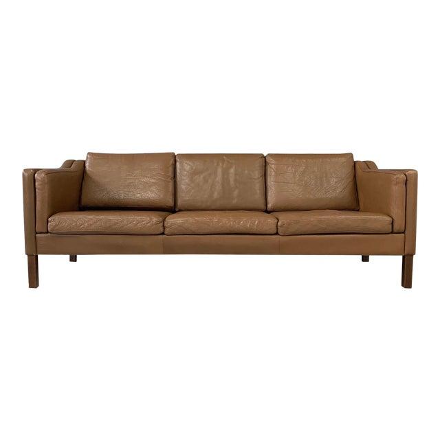 Børge Mogensen Model 2213 Three-Seat Sofa For Sale