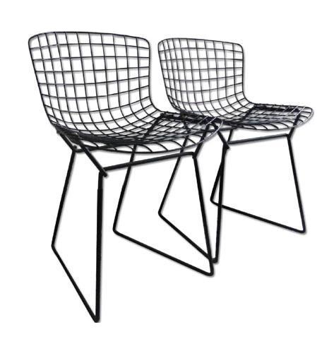 Baby Bertoia Chairs   A Pair