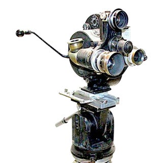 1930 Movie Camera 35mm Bell and Howell Celebrity Dp Owned For Sale