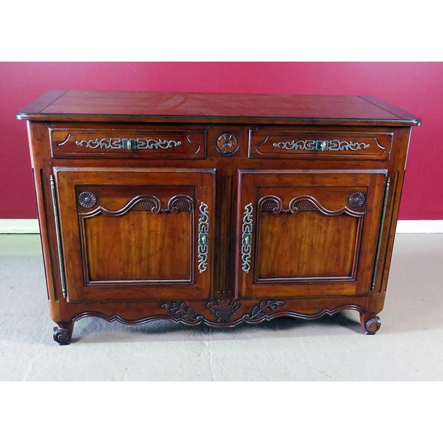 Drexel Heritage Continental Style Commode For Sale - Image 9 of 9