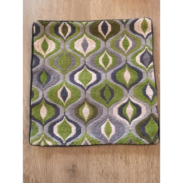This fabulous bargello needlepoint pillow is just the statement your sofa is begging for! It features an updated take on...