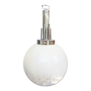 Murano Glass Pendant Light attributed to Toni Zuccheri For Sale