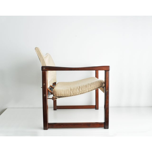 Vintage Safari Style Lounge Chair - Image 3 of 9