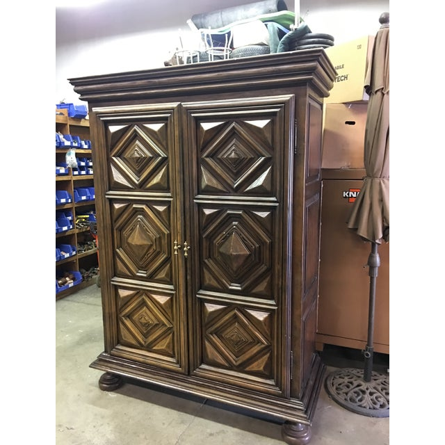 Custom Armoire From SF Design Center - Image 2 of 4