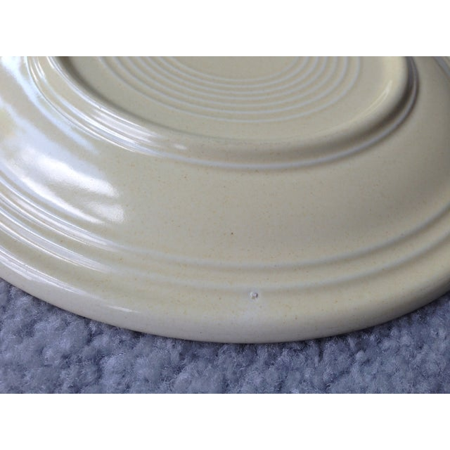 "Vintage Fiestaware 9"" Luncheon Plate For Sale In New York - Image 6 of 8"