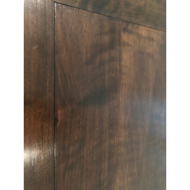 Asian Custom Walnut Coffee Table For Sale In Denver - Image 6 of 11
