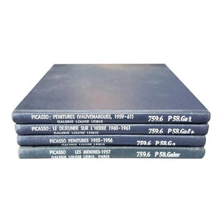 Vintage Pablo Picasso Galerie Louise Leiris Art Catalog Books (1955-1961) - Set of 4 For Sale
