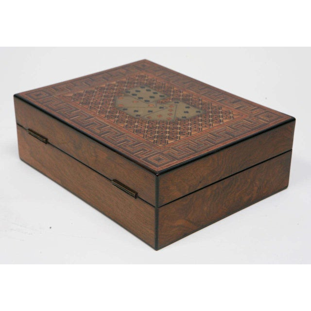 19th Century English Game Box For Sale In Los Angeles - Image 6 of 11