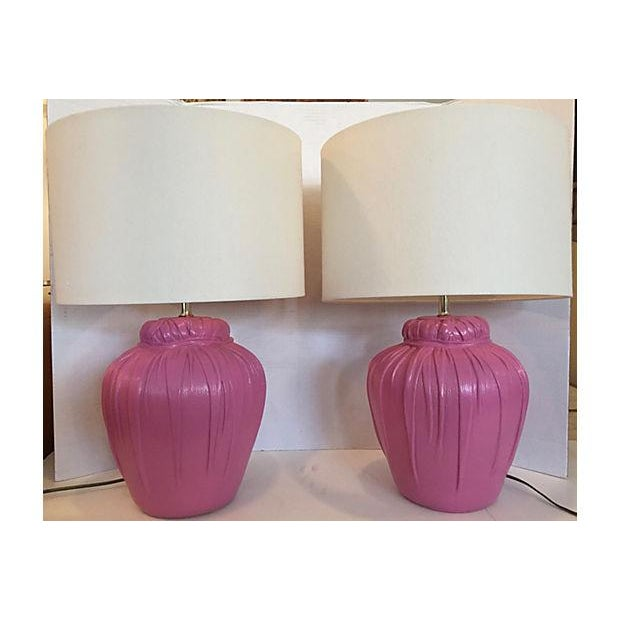 Dickinson Style Table Lamps - A Pair - Image 2 of 6