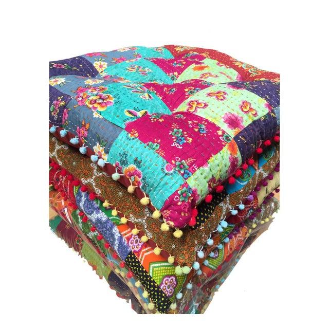 Boho Chic Floor Cushion - Image 3 of 3