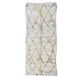 Vintage Abstract Beni Ourain Rug For Sale