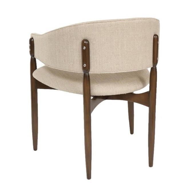 "Enroth Dining Chair. Seat Height-18"" Seat Depth -18.5"" COM requirements: 2 yards 5% up-charge for contrasting fabrics and..."