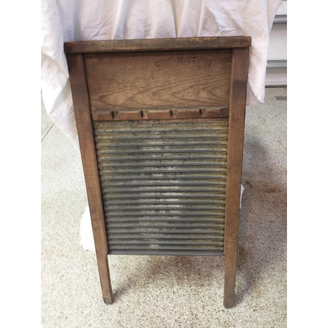 Late 19th Century Rustic Wash Board For Sale - Image 4 of 4