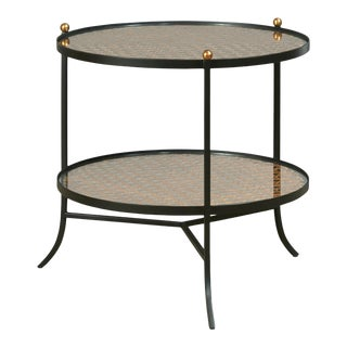 Century Furniture Tom-Tom Round Side Table For Sale