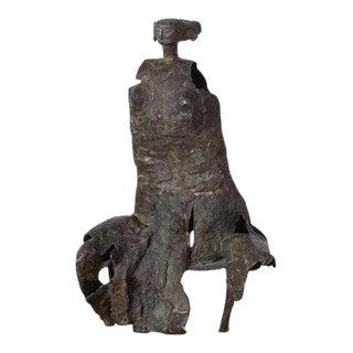Bronze Sculpture by George Mallett, 1967 For Sale