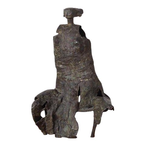 Bronze Sculpture by George Mallett, 1967 For Sale