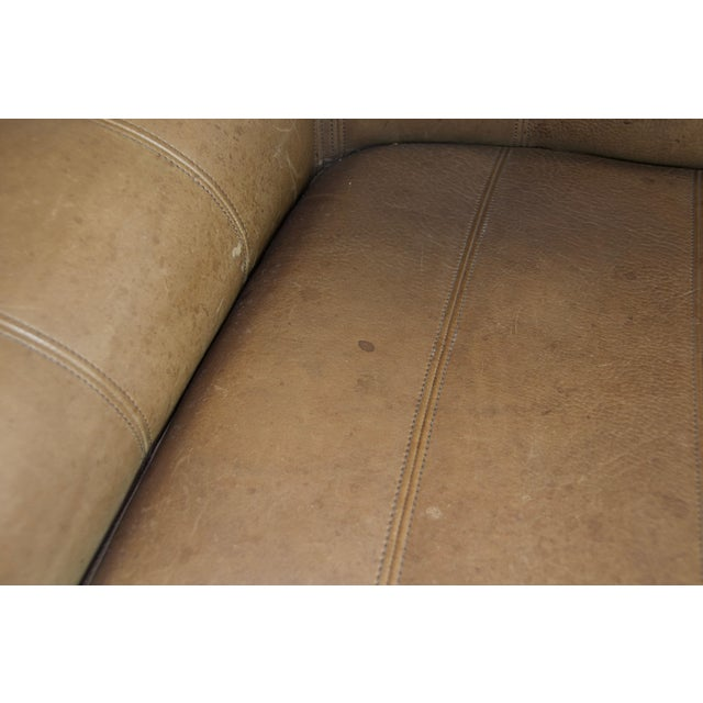 Mid 20th Century De Sede Ds44 Leather Sofa For Sale - Image 5 of 8