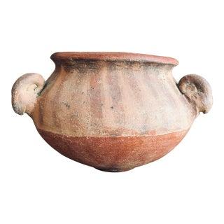 16th Century Pre-Columbian Ram Head Bowl