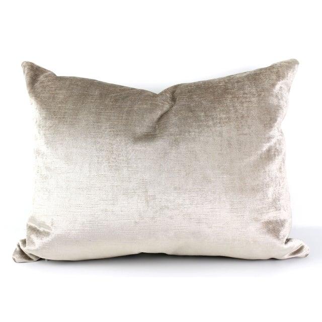 Vintage French Velvet Pillow - Image 4 of 4