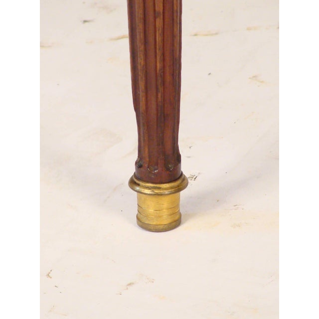 Louis XVI Style Console Table For Sale - Image 9 of 11