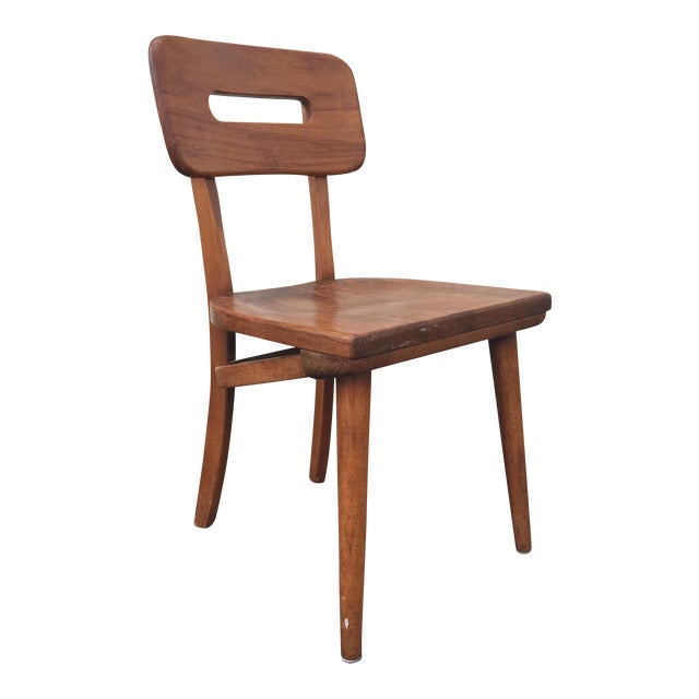 Mid-Century Walnut Chair by Boling Chair Company - Image 1 of 9