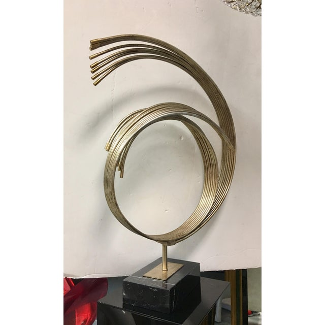 Abstract Sculpture on Marble Base - Image 2 of 7