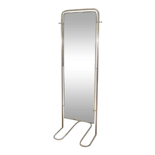Louis Sognot Modernist Art Deco Full-Length Mirror