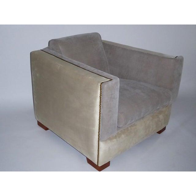 1940s Vintage Paul Frankl Style Streamline Moderne Lounge Chair For Sale - Image 11 of 12