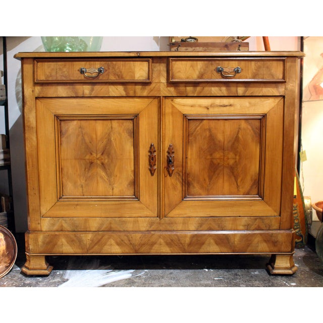 Brown Louis Phillipe Buffet For Sale - Image 8 of 8