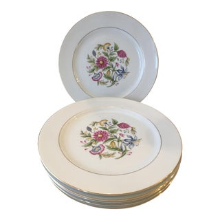 Noritake Chinoiserie Flower Dinner Plates - Set of 6