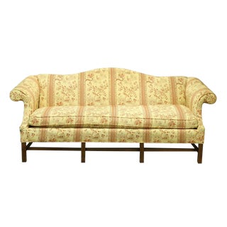 Chippendale Camel Back Sofa