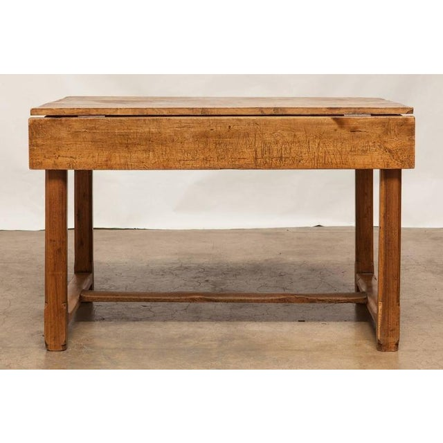 19th Century French Farmhouse Kitchen Table & Leaves - Image 5 of 10