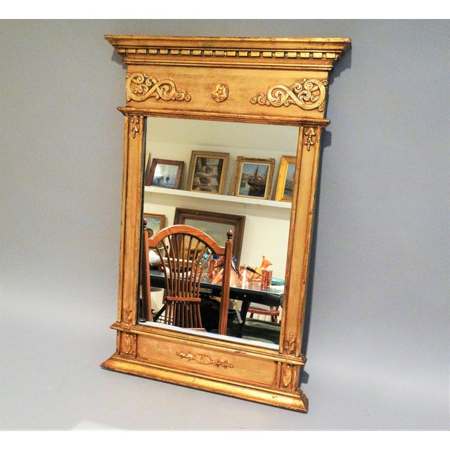 Italian Giltwood Mirror For Sale - Image 4 of 6