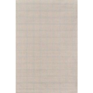 "Erin Gates Marlborough Dover Beige Hand Woven Wool Area Rug 3'6"" X 5'6"" For Sale"