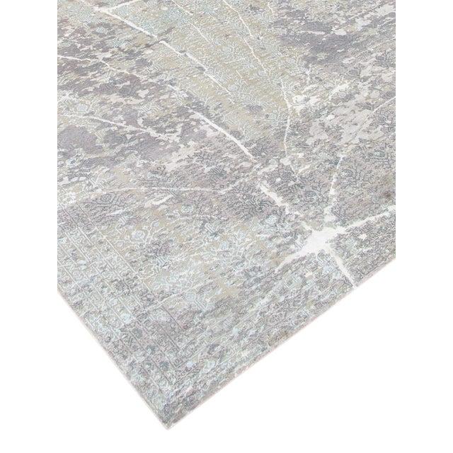 "Pasargad Transitional Silk/Wool Rug - 8' x 10' 2"" - Image 4 of 5"
