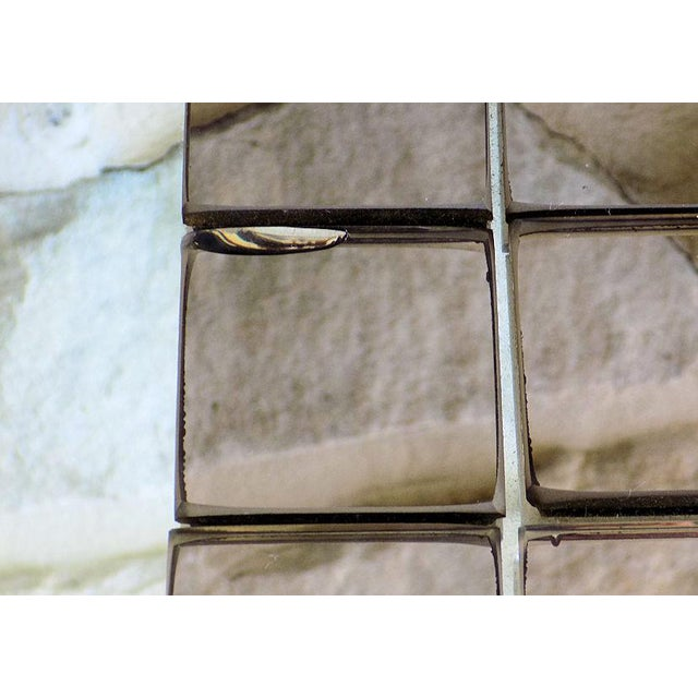 Tiled Hal Bienenfeld Pop Op Art Wall Mirror For Sale - Image 11 of 13