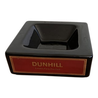 Vintage Dunhill Square Ashtray For Sale