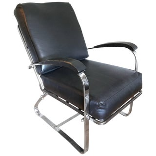 Art Deco Machine Age Chair by McKay For Sale
