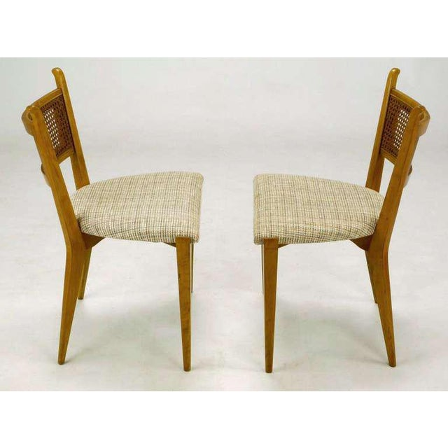 1950s Set Six Edmond Spence Swedish Dining Chairs For Sale - Image 5 of 11