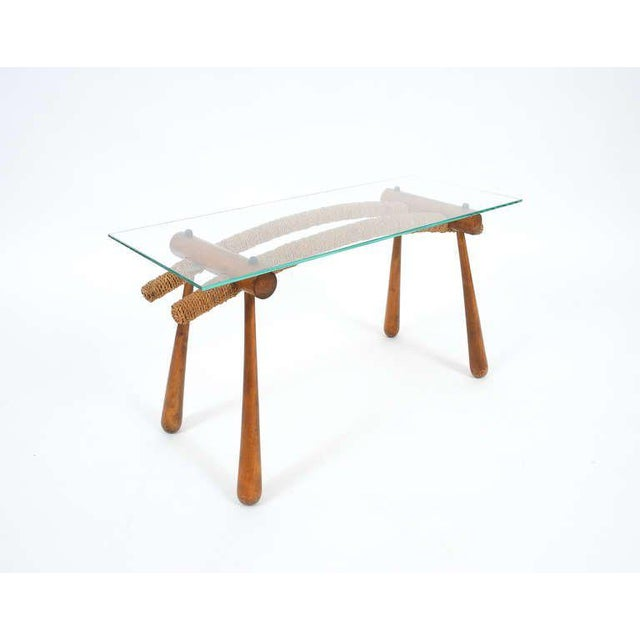 Iconic Modernist Coffee or Side Table by Max Kment, 1955 For Sale - Image 10 of 10