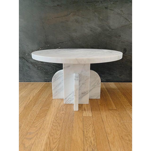 Modern Modern Seer Studio Ratio Carrara Cocktail Table For Sale - Image 3 of 3