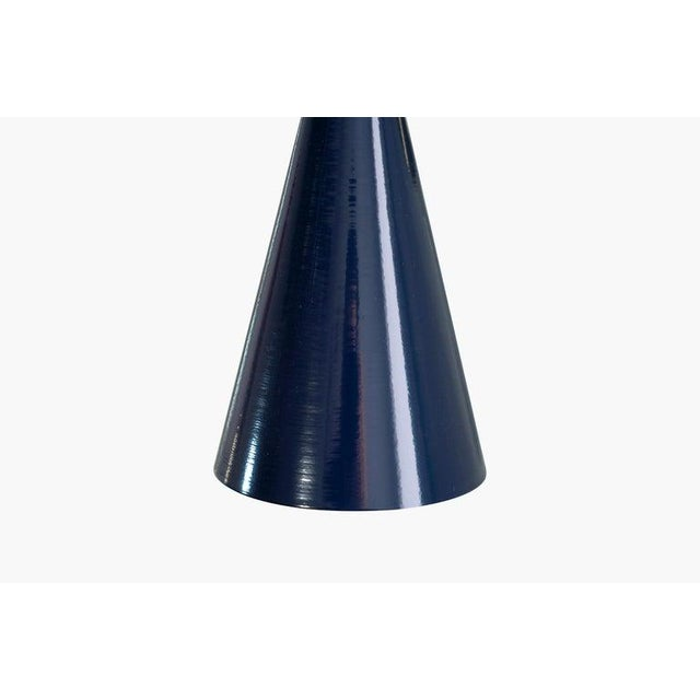 "Blue ""Tuxedo"" Wall Sconces For Sale - Image 8 of 13"