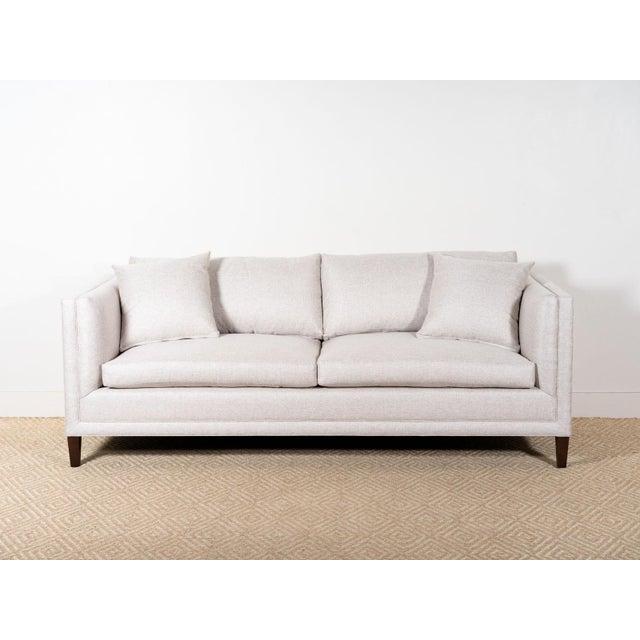2010s EJ Victor Upholstered Debra Sofa on Legs For Sale - Image 5 of 7