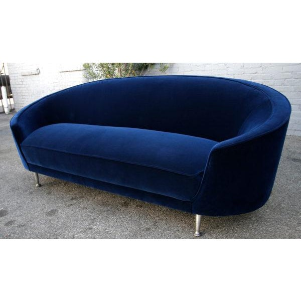 Mid-Century Modern Italian Sofa in the Style of Ico Parisi, 1960s For Sale - Image 3 of 6