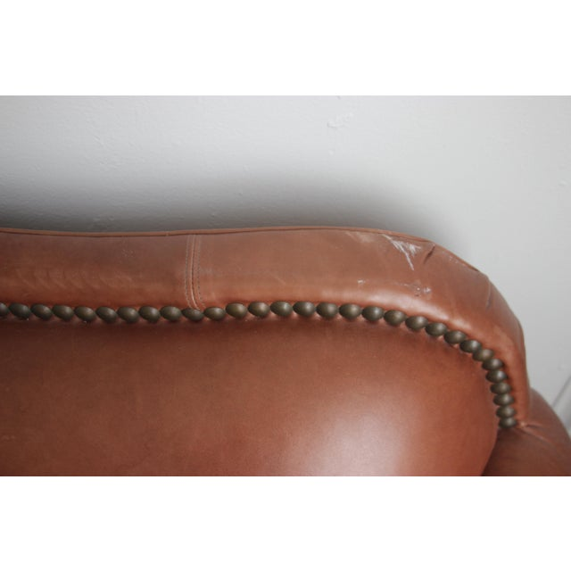 Lillian August Leather Sofa - Image 6 of 7