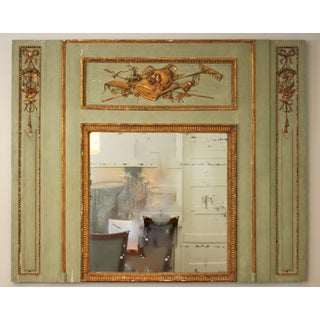 French 18th Century Trumeau Mirror Preview