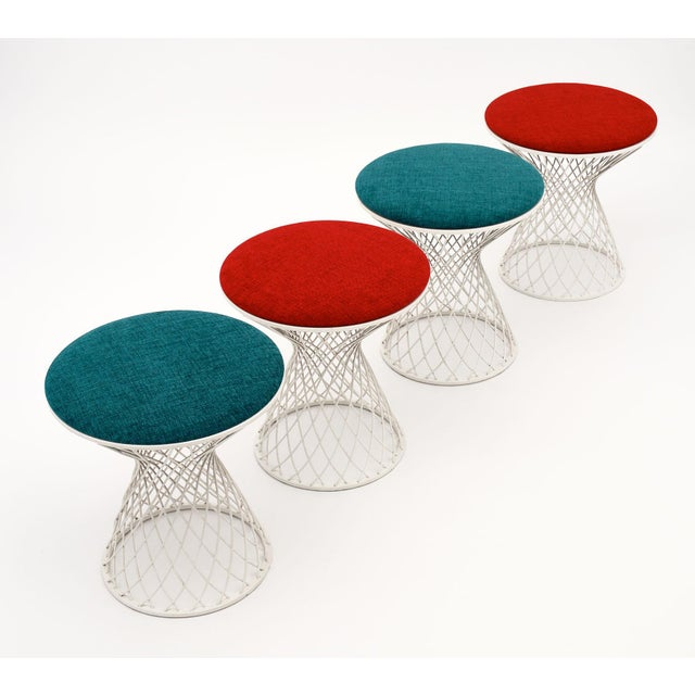 1990s Patricia Urquiola Garden Tables and Stools - Two Sets of 3 (6 Pieces) For Sale - Image 5 of 10