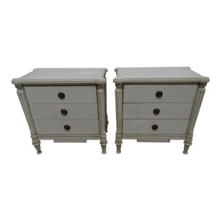 Swedish Gustavian Nightstands - a Pair For Sale