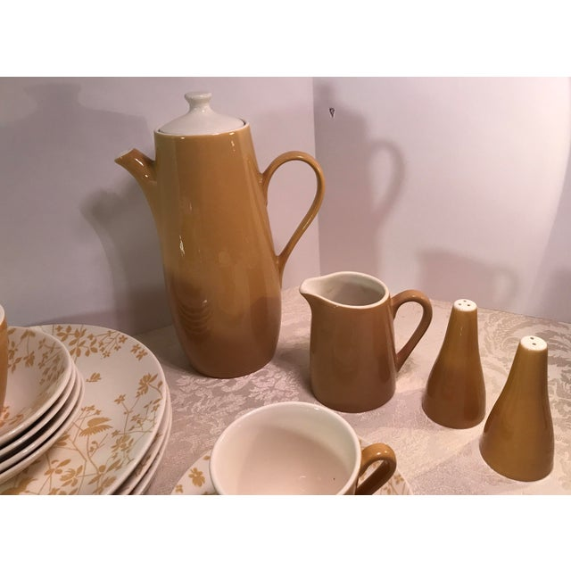 Sheffield Golden Meadow Ironstone Set - 30 Pieces For Sale - Image 9 of 11