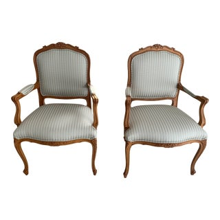 Traditional Duvall Chairs by Ethan Allen - a Pair For Sale